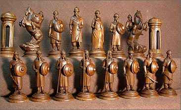 Шахматы своими руками из дерева фото