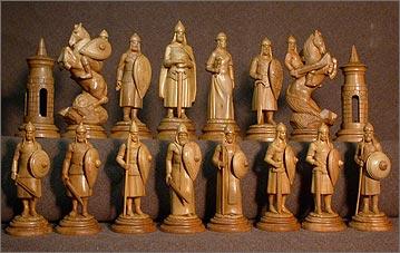Резьба шахматы своими руками из дерева